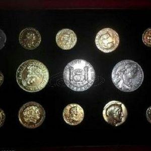 """Συλλογή νομισμάτων """"Από το ήλεκτρο στο ευρώ"""""""