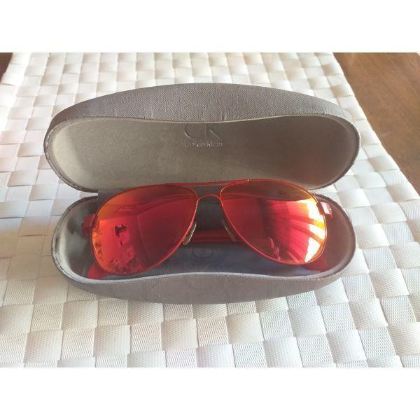 f2e60da039 μεταχειρισμενα Calvin Klein κόκκινα γυαλιά ηλίου. Calvin Klein kokkina  gialia iliou