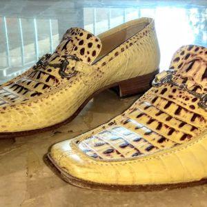 Ιταλικά παπούτσια από γνήσιο δέρμα κροκόδειλου