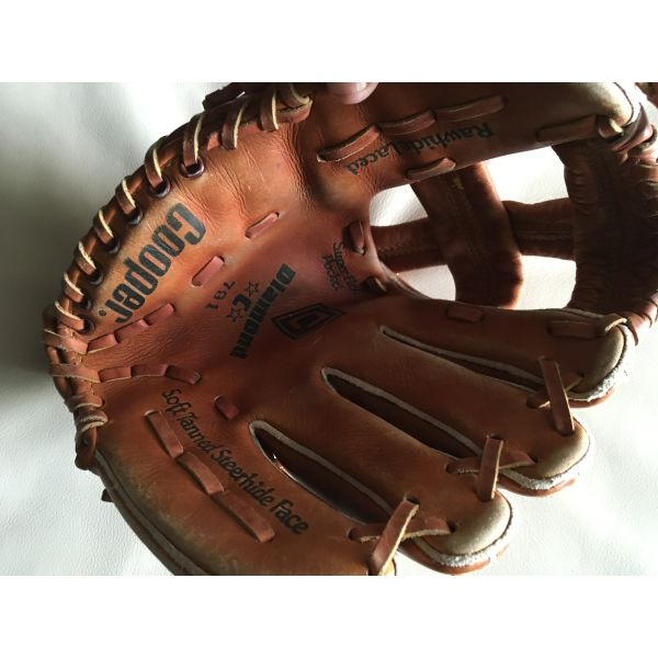 (2) gantia baseball Cooper Diamond C aristera