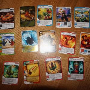 lego ninjaco καρτες