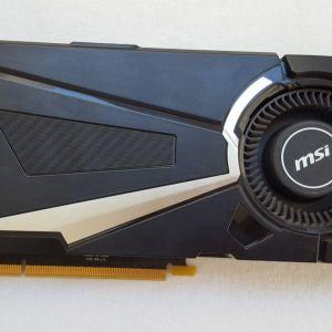 MSI GTX 1080 8GB AERO OC