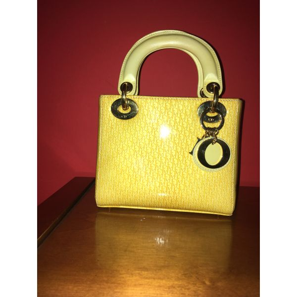 afthentiki Lady Dior Mini tsanta