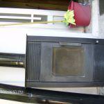 Ξυλοσομπα Κατασκευης ΣΥΡΙΟΣ Τριπολη με μπουρια,περιστρεφομενο καπελλο και ηλεκτρικη σκουπα για το καθαρισμο της.
