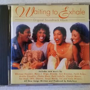 CD ( 1 ) Waiting to  exhale - Original Soundtrack Album