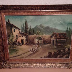 Πίνακας Ελαιογραφία