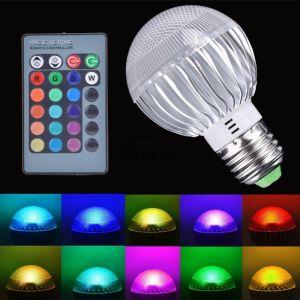 Μαγικη Λαμπα Αλλαγης Χρωματος LED Με Κοντρολ Ε27