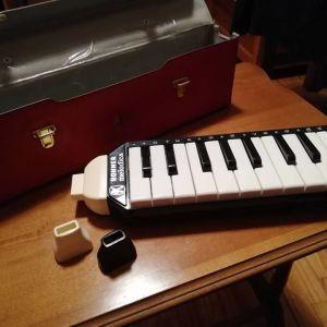 Σπάνια Vintage HOHNER melodica piano 20 πλήκτρων + Θήκη