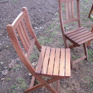 Δύο καρέκλες κήπου BOLLO της IKEA