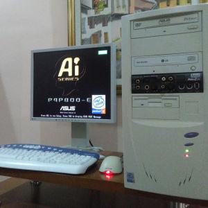 ΣΥΛΛΕΚΤΙΚΟΣ RETRO-VINTAGE - ΥΠΟΛΟΓΙΣΤΗΣ PLATO Pentium 4 Socket 478