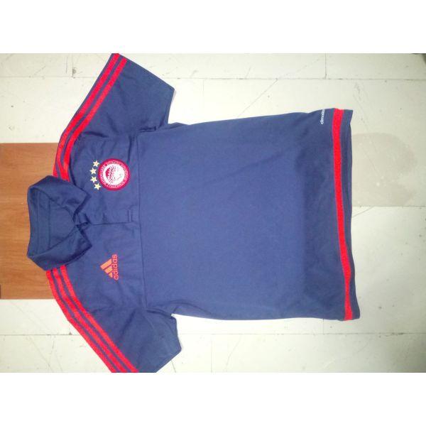 μεταχειρισμενα Ολυμπιακος μπλούζακι πολο Adidas σκούρο μπλε. olimpiakos  mplouzaki polo Adidas skouro mple ceff252055f