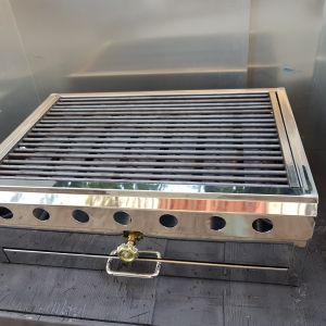 Ψησταριά αερίου υψηλής πίεσης επαγγελματικού επιπέδου 60x40