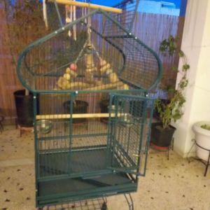 Κλουβι μεγαλο για παπαγαλους