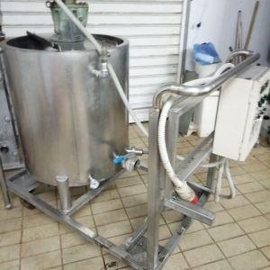 Παστεριωτής γάλακτος (βραστήρας γάλακτος) 200 λίτρων