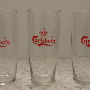 Συλλεκτικά ποτήρια μπύρας carlsberg