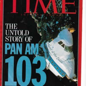 Details about  TIME MAGAZINE 1992 APRIL 27, THE UNTOLD STORY OF PAN AM 103