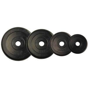 Δίσκος με επένδυση λάστιχο 2,5kg Φ28 Amila 44433 (2 τεμάχια)