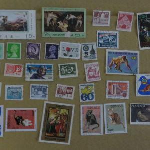 177 ξενα γραμματοσημα