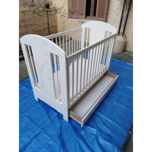 81610e8b64d Κρεβάτι παιδικό με στρώμα ορθοπεδικο - € 100 - Vendora.gr