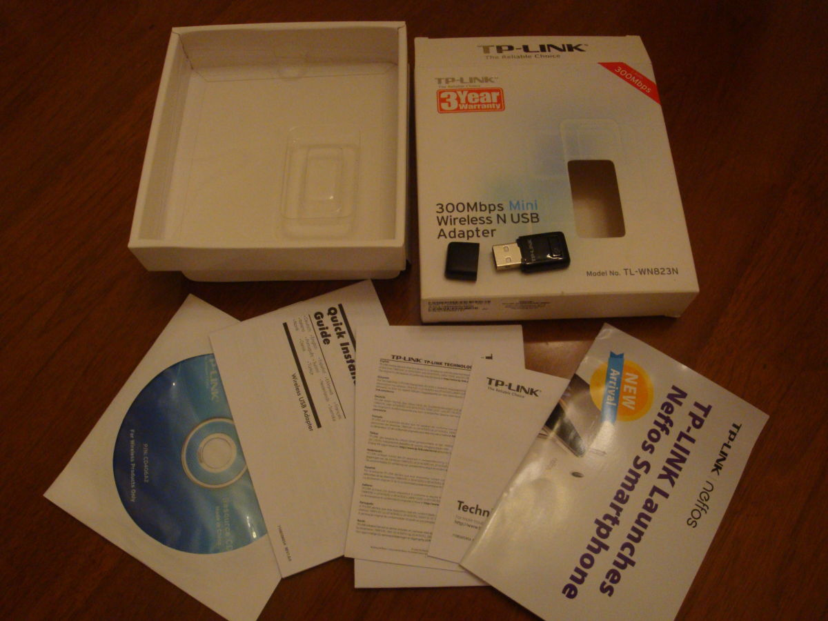 Tp Link Tl Wn823n 300mbps Mini Wireless N Usb20 Adapter Wn 823n