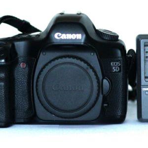 Canon Eos 5d Original version - με CANON REPORT!!! Μονο 33.700 καρέ!!