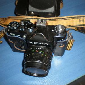 Φωτογραφικη Μηχανη ZENIT 12XP με φακο Helios 44M-4, 58mm