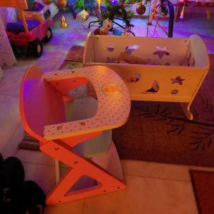 ξυλινη κουνια κλπ παιχνιδια