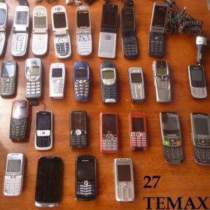 Οπως τα βλεπετε και στις 4 φωτογραφιες  τα κινητα για ανταλακτικα