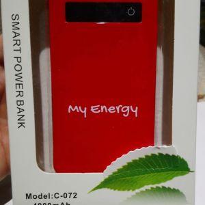 Powerbank 4000mAh red
