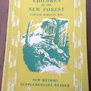 Children of the New Forest - Captain Marryat, R.N. - Longmans 1957