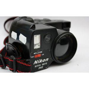 APARAT FOTO NIKON MOTOR DRIVE F41  κομμάτι μηχανή  Nikon του 1980  - έχουν ξεκινήσει τη λήψη των φακών κάμερας, ενσωματώνοντας το ενσωματωμένο φλας