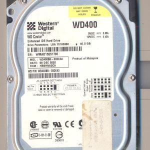 Σκληρός δίσκος WD IDE 40 GB