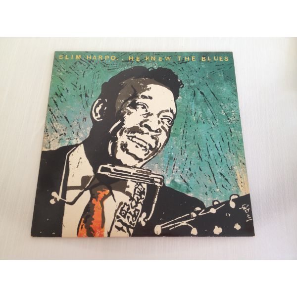 Slim Harpo – He Knew The Blues 1978 (diskos viniliou)
