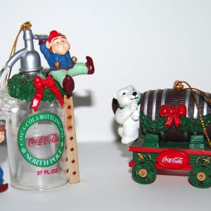 Coca-Cola 2 Χριστουγεννιάτικες Μινιατούρες