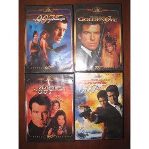 Τζέιμς Μποντ 007 MGM 22 DVD 6 ΔΙΑΦ.ΠΡΑΚΤΟΡΕΣ