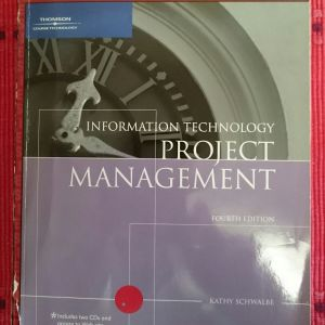 information technology project management 4rth ed. Kathy Schwalbe
