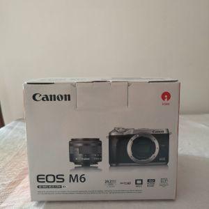 Πωλείται mirrorless Canon Eos M6 15-45 mm IS STM