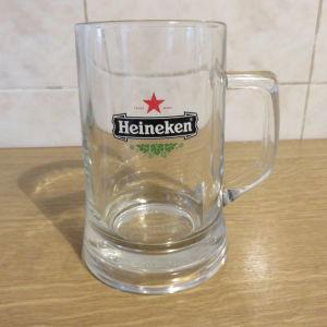 Μεγαλο ποτηρι μπυρας Heineken 500ml