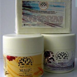 Ενυδατική-αντιγηραντική + μάσκα-scrub + σαπούνι