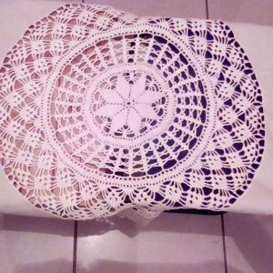 171374aea8d0 Σεμέν και καρέ έξι τεμάχια όλα σε γκρι ύφασμα με λευκό πλεκτό στο κέντρο σε  διάφορα