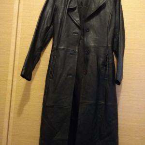 Παλτό δέρμα μακρύ νούμερο medium 27954278cad