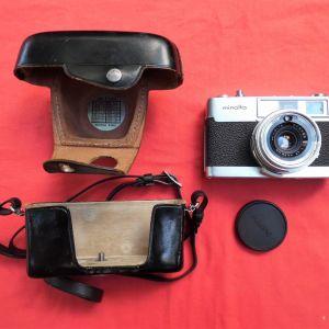 Φωτογραφική μηχανή MINOLTA της δεκαετίας του '70.
