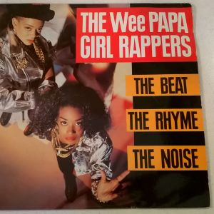 Vinyl LP ( 1 ) - The Wee Papa girl rappers - The Beat, The Rhyme, The Noise