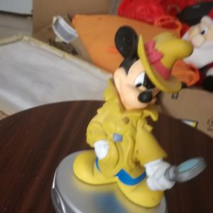 Mickey Mouse Detective Figurine