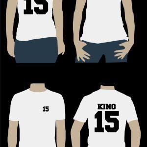 Σετ γυναικείο & ανδρικό t-shirt