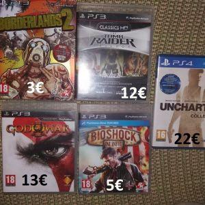 Παιχνίδια για κονσόλες PS3 & PS4