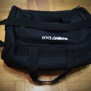 Dolce&Gabbana original, big travel/gym black bag