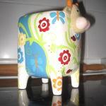 Κεραμικος Κουμπαρας -Αγελαδα-