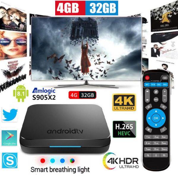 TV BOX Mecool KM9 NEW Android 9 Pie With 4GB Ram LPDDR4 32GB Rom KODI 18 3-  NETFIX Όλα με Ελληνικό Μενού