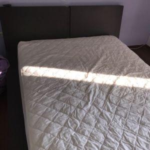Κρεβάτι υπέρδιπλο με στρώμα